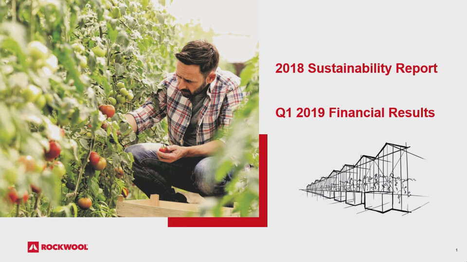 ROCKWOOL Q1 Report 2019